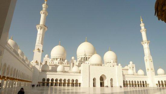 Mosquée Cheikh Zayed : le cupole esterne