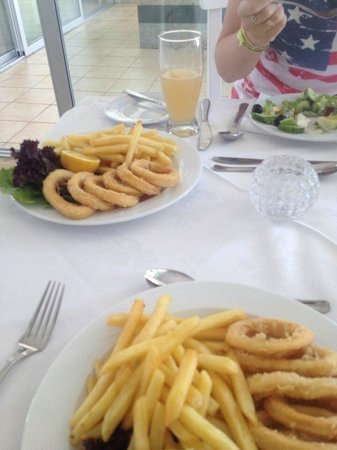 Napa Tsokkos Hotel: Обед