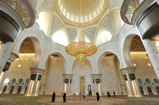 Mosquée Cheikh Zayed : che lampadari