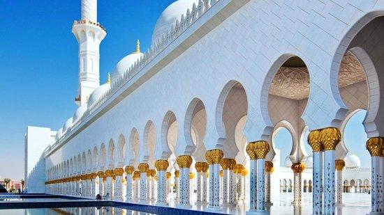 Mosquée Cheikh Zayed : particolari