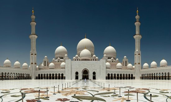 Mosquée Cheikh Zayed : la Moschea Sheikh Zayed
