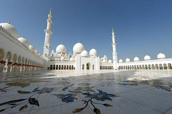 Mezquita Sheikh Zayed: bellissima