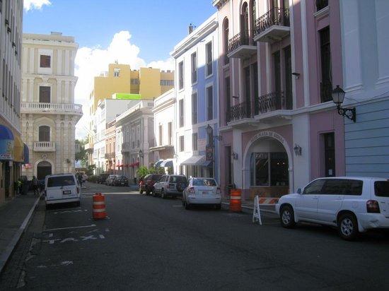 Hotel Plaza De Armas Old San Juan: street