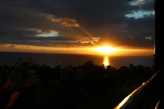 Takalana Bay Resort: Sonnenuntergang