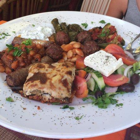 Mama Sofia's: Assiette grecque pour 2 personnes