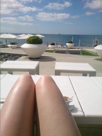 Farol Hotel: Prachtig terras met een adembenemend uitzicht