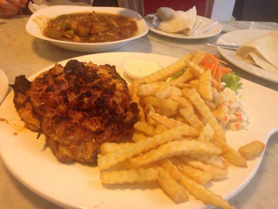 Telaga Seafood Restaurant: Grilled checken