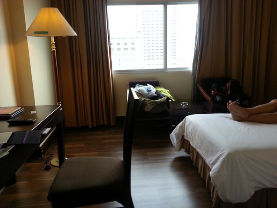 New Season Hotel: room window