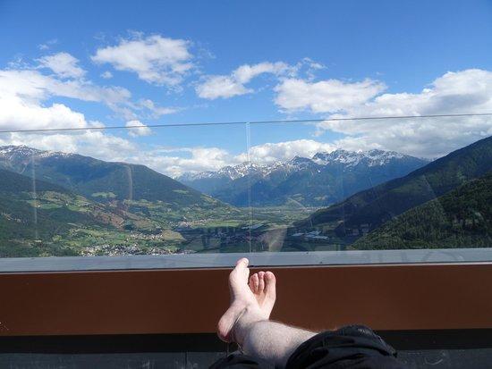 Alpin & Relax Hotel Das Gerstl: Blick von der neuen Terrasse
