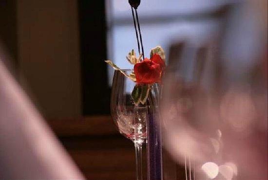 Les Vinyes Restaurant : Los detalles enriquecen el ambiente