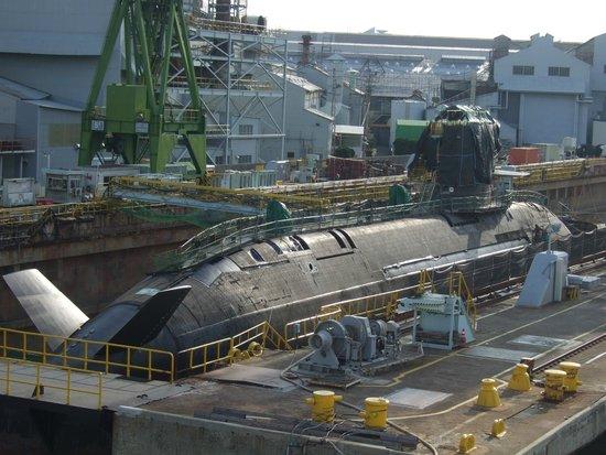 Concerto: 建造中の潜水艦
