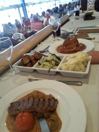 Owlerton Greyhound Stadium: Great Food was a surprise!!!