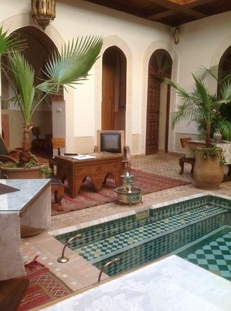 Riad Melhoun : ground floor