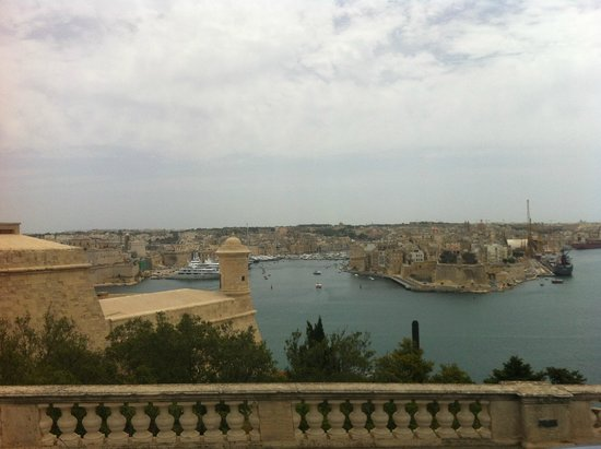 Hotel Valentina: nice malta views
