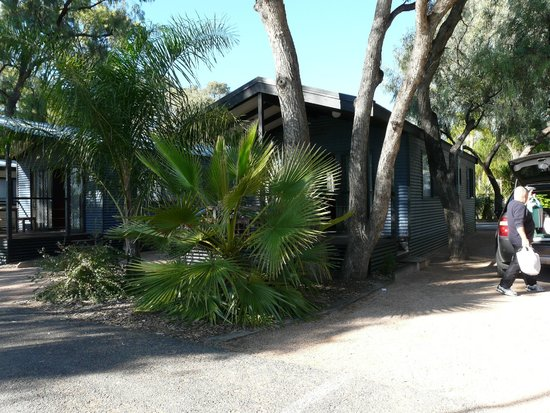 BIG4 Renmark Riverfront Holiday Park: One of the cabins