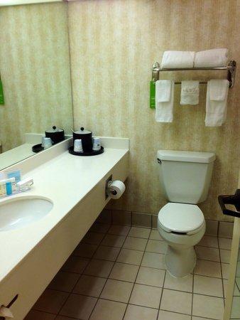 Hampton Inn & Suites New Orleans-Elmwood/Clearview Parkway Area: Spacious & clean bathroom