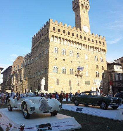 Piazza della Signoria: Vue sur le palazzo Vecchio