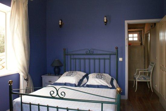 Quarto azul (quarto de casal)  Foto de Solar da Natureza, Viana do Castelo