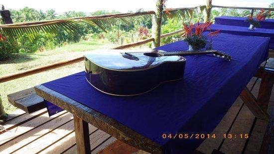 "Takalana Bay Resort : das ""Esszimmer"""