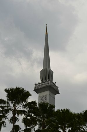 National Mosque (Masjid Negara): Minarettenturm