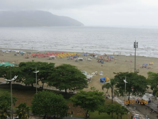 Mercure Santos: Vista da sacada