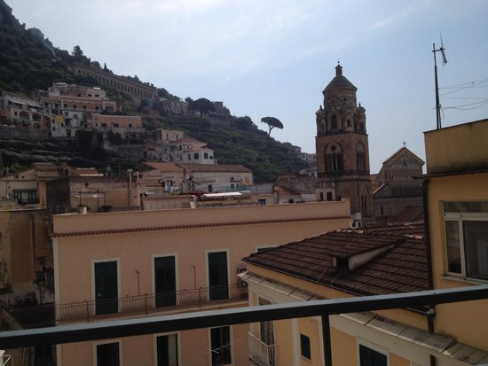 Hotel Amalfi: View from the roof top terrace