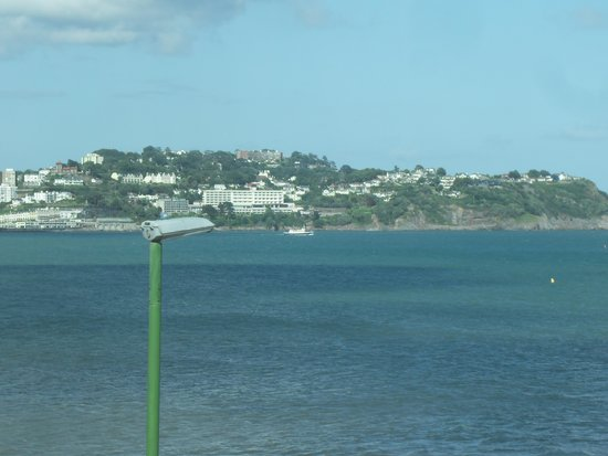 The Torbay Sands Hotel: lovely views accross the bay