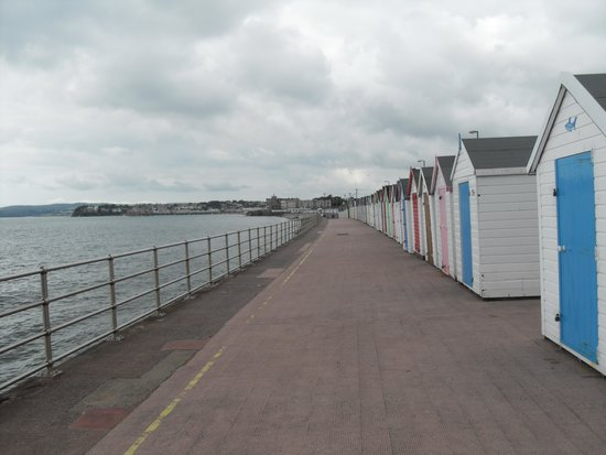 The Torbay Sands Hotel: easy walk into Paignton