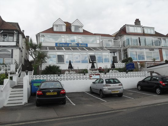 The Torbay Sands Hotel: front view