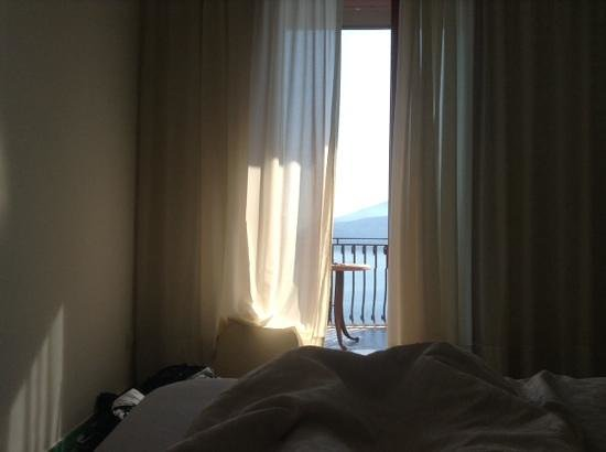 Hotel Belair: view from bed