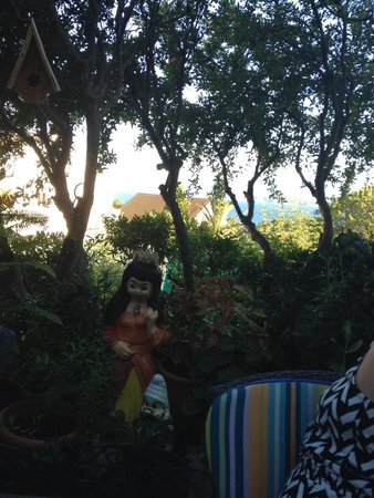 Mendula Restaurant: View