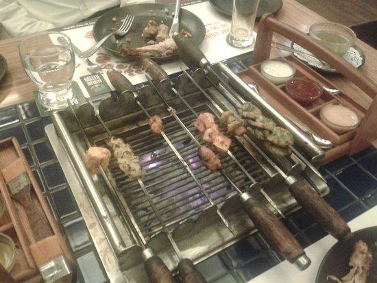 Barbeque Nation : tavolo