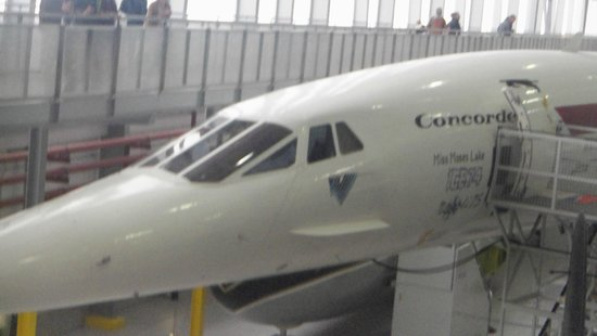 Imperial War Museum Duxford: The Concorde.