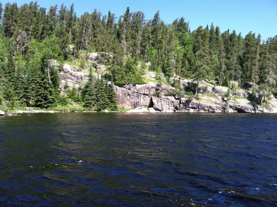Errington's Wilderness Island Resort: Narrows