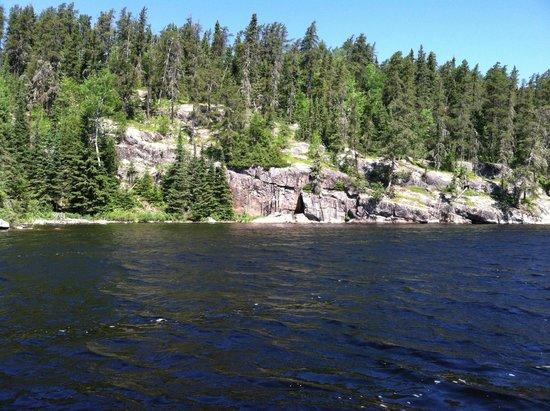 Errington's Wilderness Island Resort : Narrows