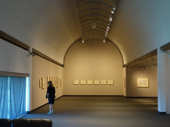 Museum London: One of the large, modern galleries