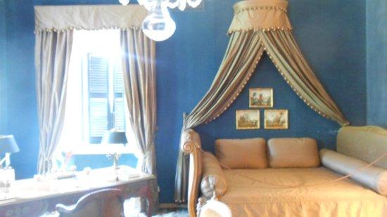 Villa del Balbianello: Camera da letto