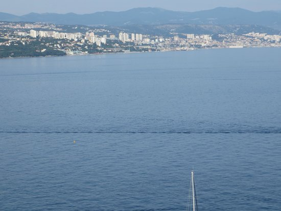 Hotel Milenij: side view from room