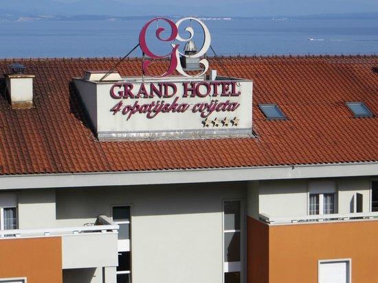 Hotel Milenij: Hotel opposite