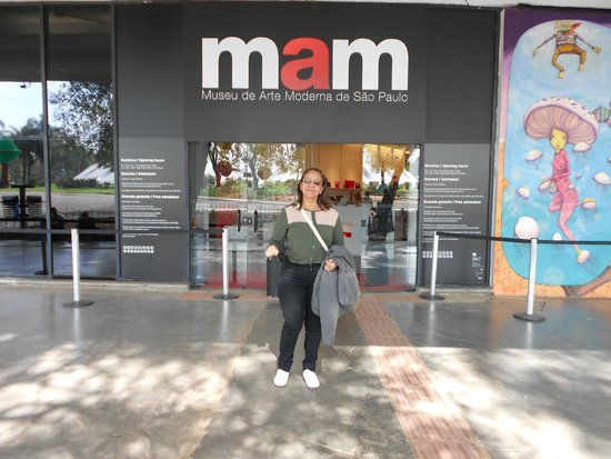Parque do Ibirapuera: Museu de Arte Moderna