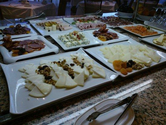 Parador de Córdoba: El desayuno, como siempre, excepcional