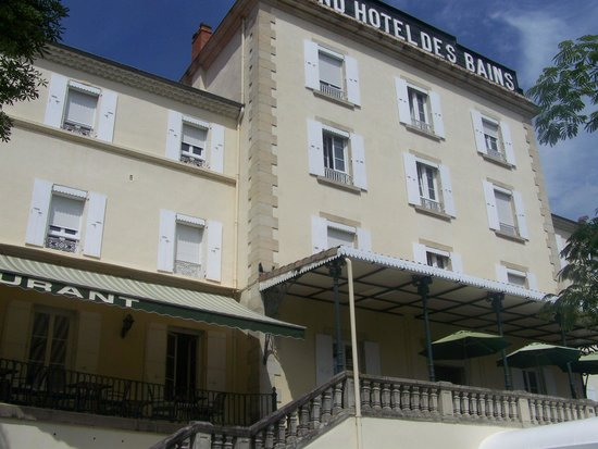 Grand Hôtel des Bains : façade de l'hôtel