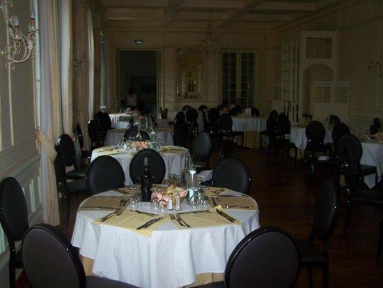 Grand Hôtel des Bains : la salle de restaurant