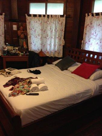 Vongdeuan Resort : Bedroom