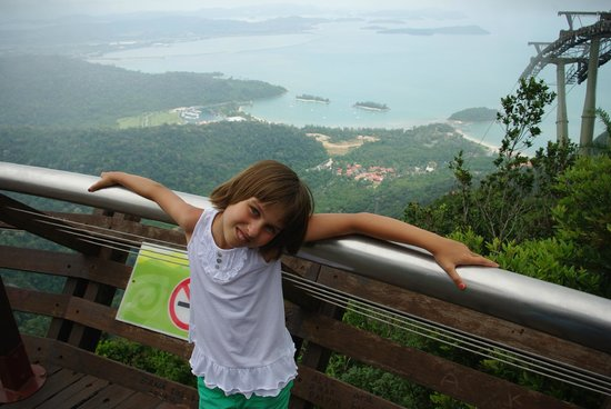Langkawi Cable Car (Panorama Langkawi Sdn Bhd): View from the top