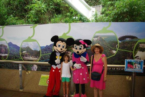 Langkawi Cable Car (Panorama Langkawi Sdn Bhd): With Mickey