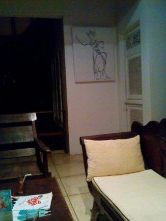 Ubud Garden Villa: living room