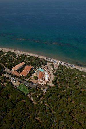 Sorso, Italy: vista aerea hotel