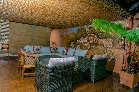 Knysna Tonquani Lodge & Spa: Relaxation area
