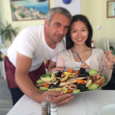 Peros Restaurant : Niko very goooooood food very nice!